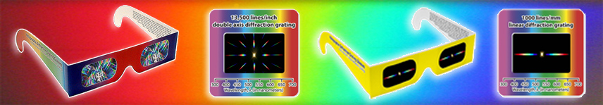 Diffraction Grating -Manufacturers of Diffraction Grating Slides, Glasses and Film